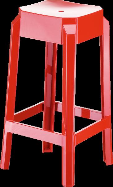 Kunststoffstuhl Barhocker Bludenz 2
