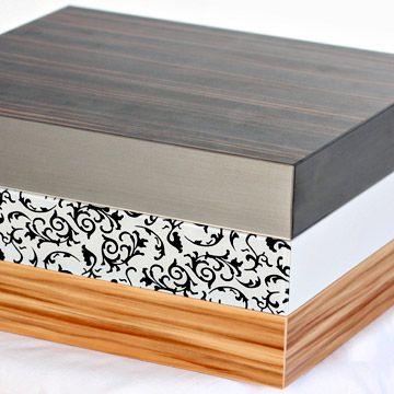 Tischplatten HPL Extra Classic 50 mm aufgedoppelt