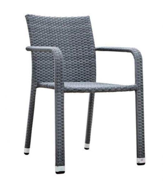 Terrassenstuhl Lyon Grey