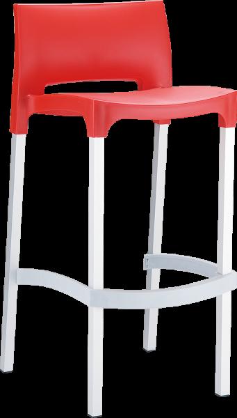Kunststoffstuhl Barhocker Bludenz 3