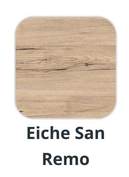 Tischplatten Melamin EICHE SAN REMO 70 x 70 cm für Indoor